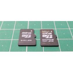 Micro SD, 512MB, Class 4