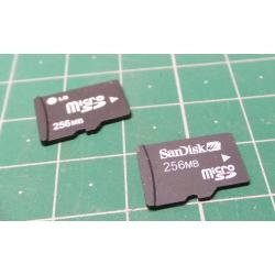 Micro SD, 256MB, Class 4