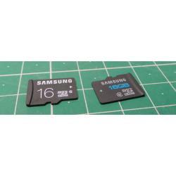 Micro SD, 16GB, Class 6