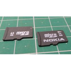 Micro SD, 64MB, No class