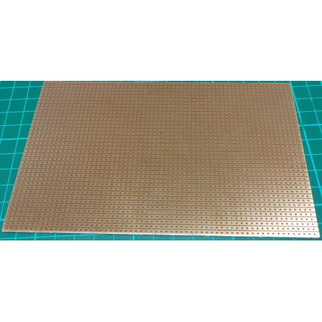 Stripboard, 160x100mm, 2.54mm Pitch