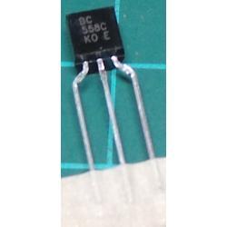 BC558C, PNP Transistor, 30V, 0.1A, 0.5W