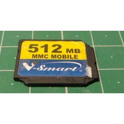 USED, MMC, 512MB, Class 6