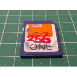 USED, SD, 256MB, Class 4