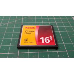 USED, Compact Flash, 16MB, No class