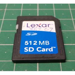 USED, SD, 512MB, Class 6