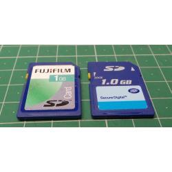 USED, SD, 1GB, Class 4