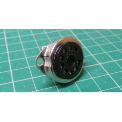 12PCS 9PIN TUBE SOCKET Bakelite Valve Base for 12AX7 6DJ8 5670 6922 EL84 AMP DIY