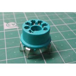 MINI 7pin Bakelite vacuum tube socket 12AE6 6AT6 6BK6 12AV6 12BU6 6AQ6 6066