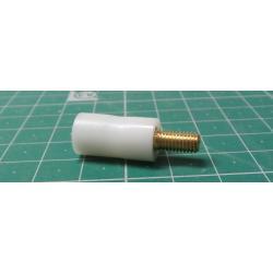 10mm, M4, M/F, Nylon + Brass