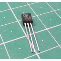 2N2222, NPN Transistor, 75V, 800mA, 500mW