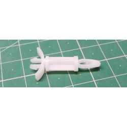 PCB Spacer Support , Nylon 6.6, 15.9mm