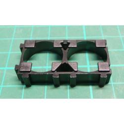 18650 battery holder - module for 2 cells