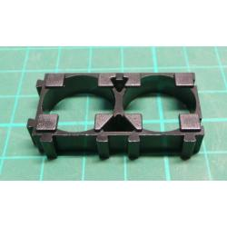 18650 battery holder - module for 2 cells