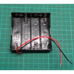 Battery holder 4x 18650