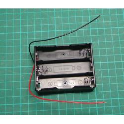Battery holder 3x 18650