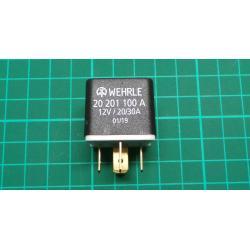 Wehrle, 20 201 100A, 12V/ 20/30A, 05/19