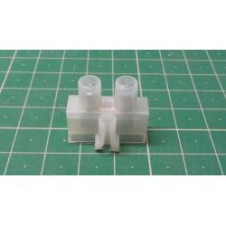 Terminal Block, 1way, for 6mm2 wire, 41AMP, NYLON