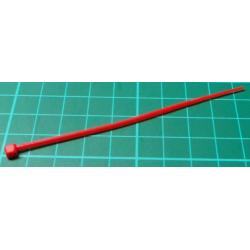 Cable Tie, 2.5x100mm, Red