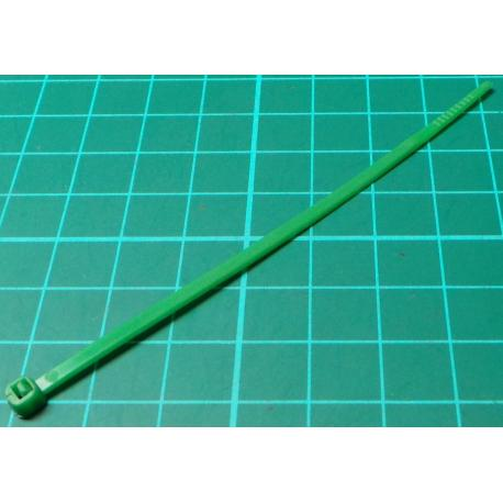 Cable Tie, 2.5x100mm, Green