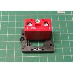 Fixing Flange Plastic + 1NC, 103-000-662