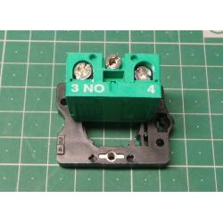 Fixing Flange Plastic + 1NO, P2BRK+S1, 103-000-661