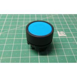 BZ009, Push Button, Plastic flush, Blue, P2AF6