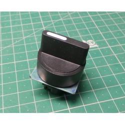 Selector Switch, Plastic (L)C(R), Black, P2AS2-3PSR