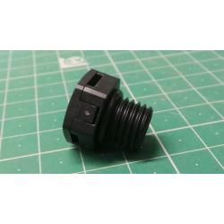 Blanking plug with vents, M12x1.5