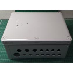 USED, ABS Industrial box low cover,291x 241 x 128, IPK66 IK07, SAREL 85017