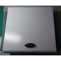 400x400x200, S3D steel WM encl. ATEX with plain door