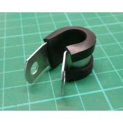 X00396, Alu IIC Clamp, 14.3mm (P-Clip)