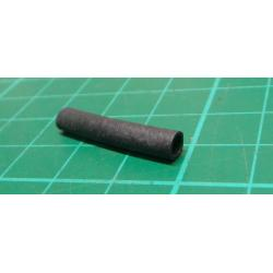 Silicone Sleeving, 3mm bore, Black, 25mm length