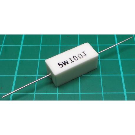Resistor, 10R, 5%, 5W