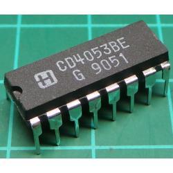 4053, 8-Channel Analog Multiplexer/Demultiplexer