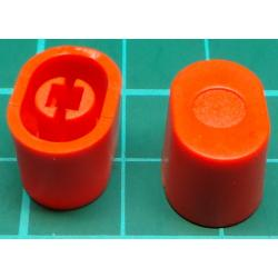 Knob for slider (with 1mm Metal Shaft), Orange