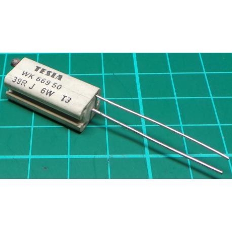 Resistor, 39R, 5%, 6W