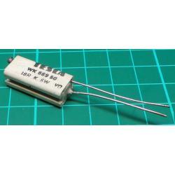 Resistor, 18R, 5%, 6W