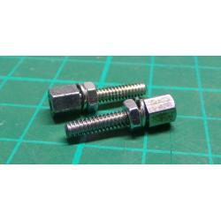 RS PRO Female UNC 4-40 Screwlock Assembly Suitable For D Connector for use with D Connector, PAR