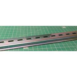 DIN rail 35x7,5mmx1m perforated