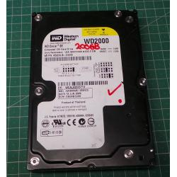 USED, Hard Disk, Desktop, IDE, 200GB
