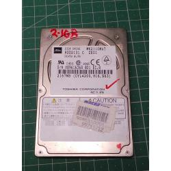 USED Hard Disk, Laptop, IDE, 2.1GB