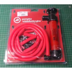 Multifunctional suction pump 3in1