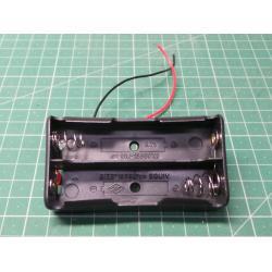 Battery holder 2x 18650