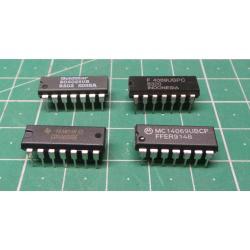 4069, CMOS, 4069, Hex Inverter