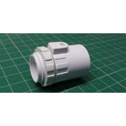 Schneider Electric Adapter Hose Adapter, White 20mm nominal size