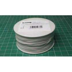 Wire-cable 0,05mm2 Cu, white