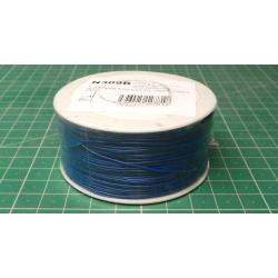 Wire-cable 0,05mm2 Cu, blue