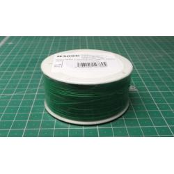 Wire-cable 0,05mm2 Cu, green