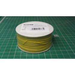 Wire-cable 0,05mm2 Cu, yellow